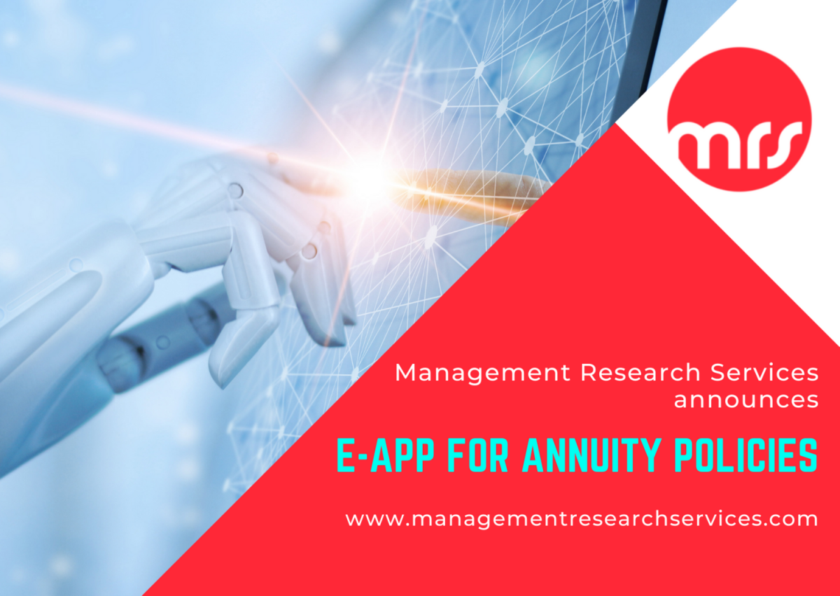 Management Research Services Announces e-App For Annuity Policies