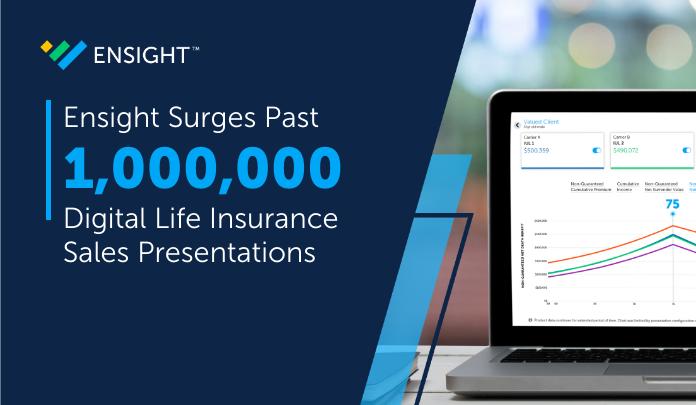 Ensight™ Surges Past One Million Digital Life Sales Presentations