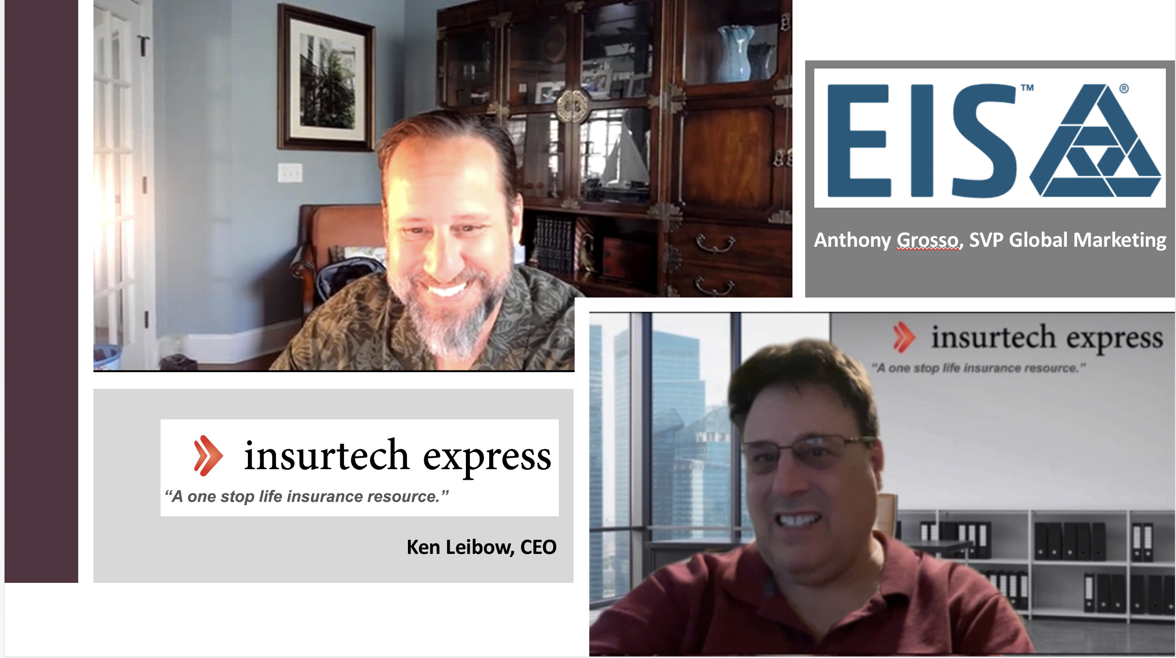 EIS' innovative insurance platform accelerates tech transformation in the insurance industry: Interview with Anthony Grosso, SVP Global Marketing