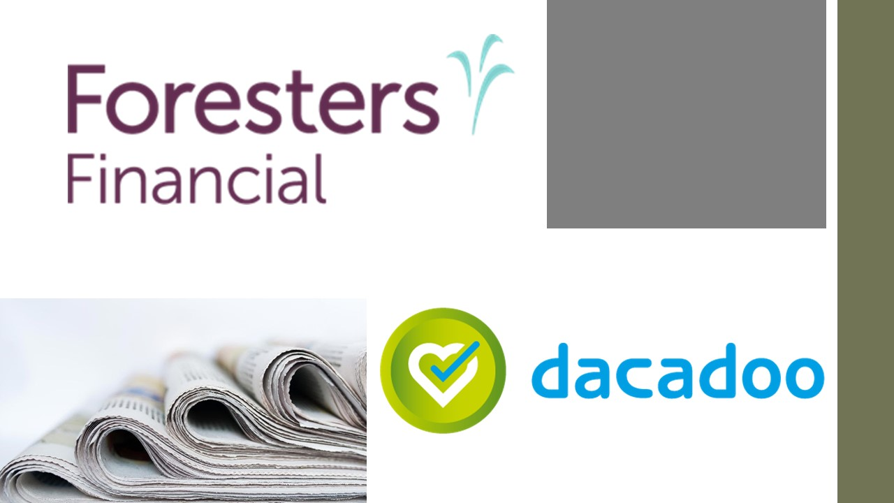 Foresters Financial partners with global Insurtech dacadoo to launch innovative well-being technology platform
