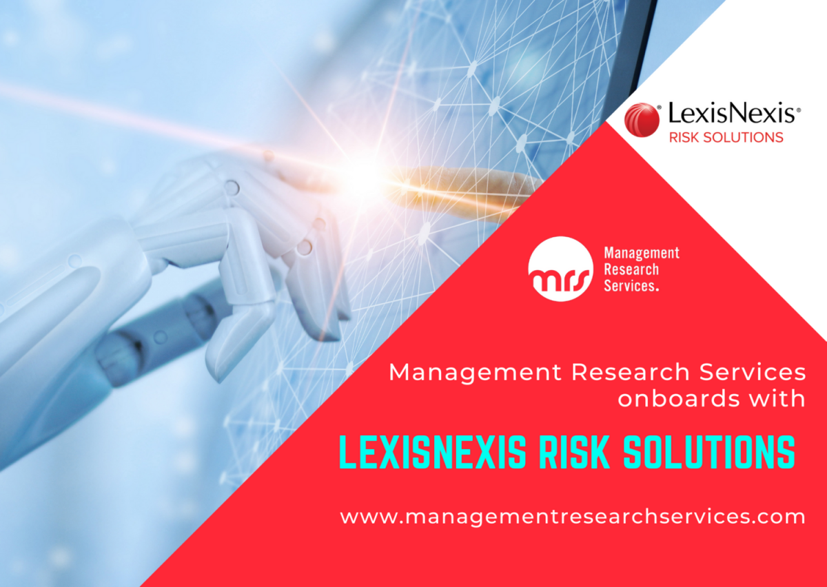 Management Research Services Onboards with Lexis NexisRisk Solutions!