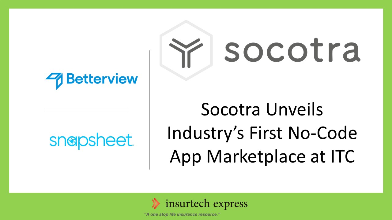 Socotra Unveils Industry's First No-Code App Marketplace at ITC